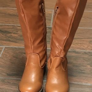 New Faux Leather Over the Knees Boots